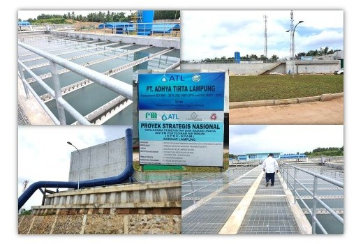 """Independent Supervision Consultant of Government Cooperation Project with Business Entities Drinking Water Supply System, Water Supply Company """"Way Rilau"""" at Bandar Lampung thumbnail"""